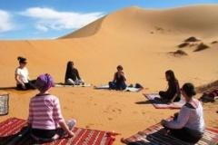 Spend your yoga Holiday in Sahara